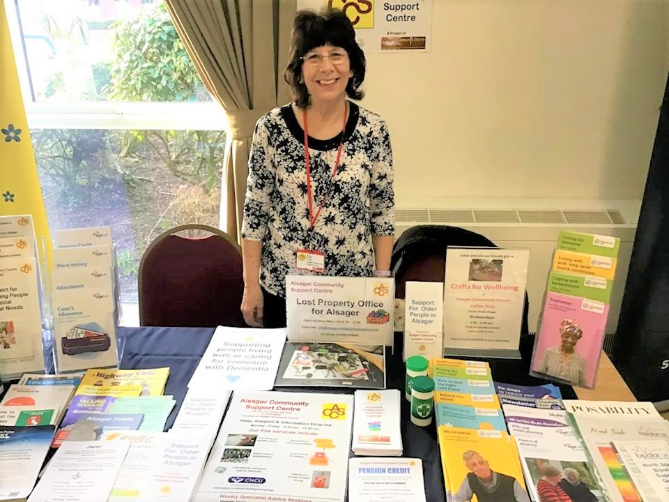 Alsager Community Support | Free Help and Advice for Local People | Liz