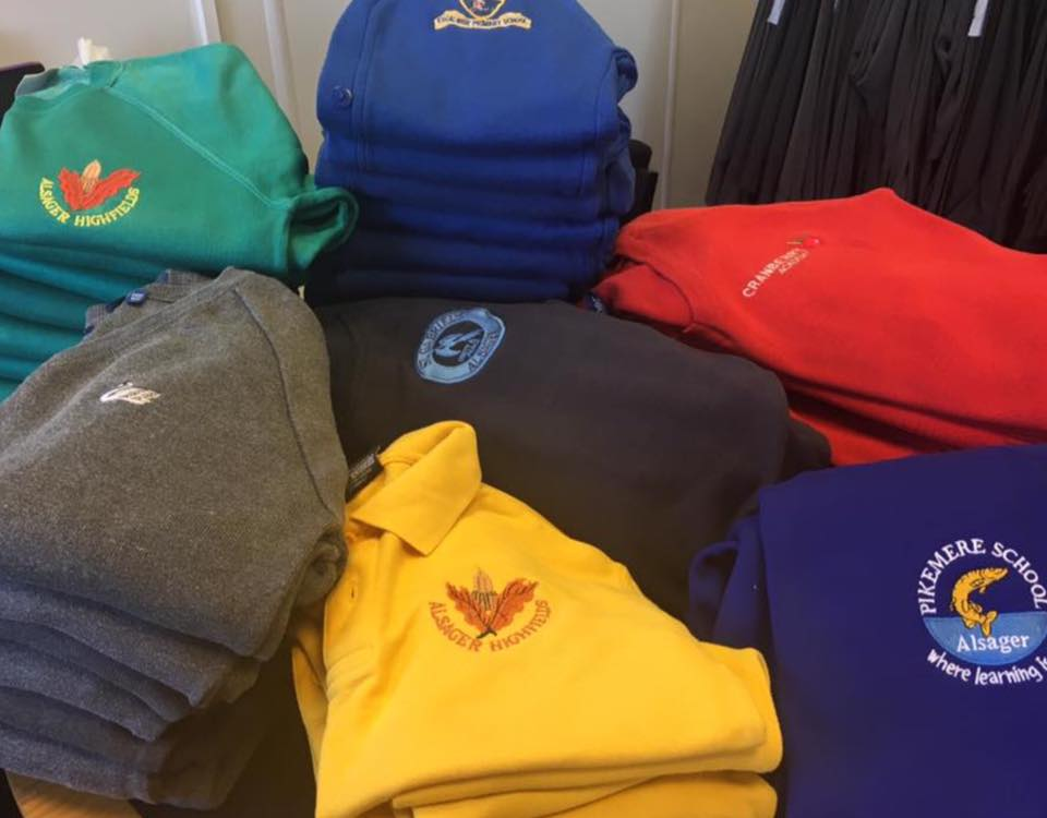 Alsager Community Support | Free Help and Advice for Local People | Uniform sweatshirts